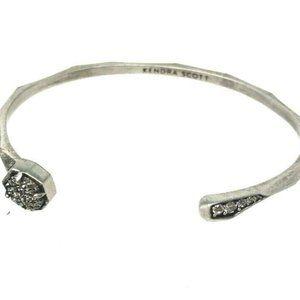 Kendra Scott Ashlee Pinch Druzy Cuff Bracelet